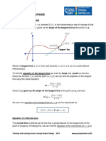 Solving for Tangent and Normal Lines.pdf