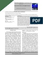 Potencial Antifertilty of Centella asiatica Leaf Extract