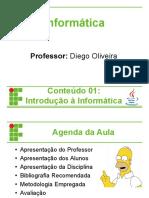 INFO1 - Introducao Informatica HW e SW