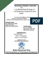 A Study on Marketing Strategy of Mahindra & Mahindra Limited in New Delhi.docx