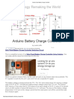 Arduino Solar Battery Charge Controller