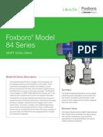 Foxboro® Model 84 Series