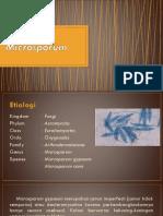 Microsporum Sp