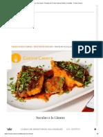 Bacalao a La Llauna - Recetas de Cocina Casera Fáciles y Sencillas - Cocina Casera