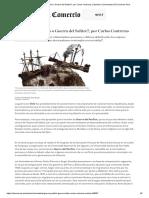 ¿Guerra Del Pacífico o Guerra Del Salitre_, Por Carlos Contreras _ Opinión _ Columnistas _ El Comercio Perú