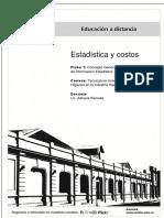 EYC01 - Ramella, Adriana - Ficha Teórica N 1. Concepto General y Métodos de Obtención de Información Estadística
