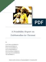Final Dabbawala Chennai - Services Management_1