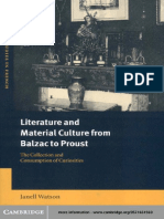 WATSON, J. - Literature and Meterial Culture from Balzac to Proust - The Collection and Consumption of Curiosities.pdf