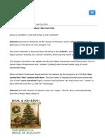 Asherah-the Christmas Tree custom