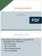 Obat kardiovakuler