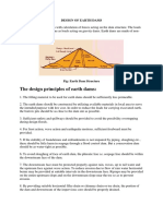 Principles of Dam Design Notes 1_design of Earth Dams