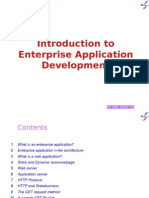1  Introduction to Enterprise Application Development wth JEE