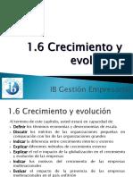 CRECIMIENTO Y EVOLUCION DE LAS EMPRESAS