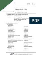 MSDS - Palklin 160