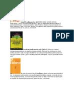 Libros Para Prestamo Exclusivo Docente2013 2014