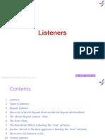 5  Listeners, servlet