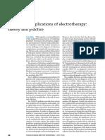 Complicaciones de Electroterpia