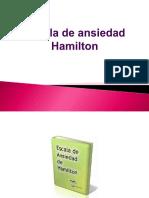Escala de Anciedad de Hamilton