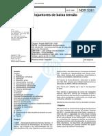 37.NBR 5361 - Disjuntores de Baixa Tensão