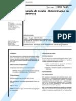70.NBR 5695 - Esmalte Asfáltico - Aderência