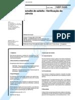 71.NBR 5696 - Esmalte Asfáltico - Fluência