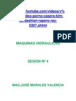 Sesion Nº 4, Maquinas Hidraulicas- 2011.docx
