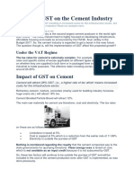 Impact of GST on the Cement Industry.docx
