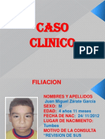 Caso Clinico de Niño