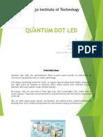 Quantum Dot Led