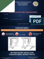 intoxicacion por paracetamol