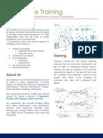 GateCycle Training - Brochure