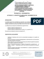 ACTIVIDAD N° 2 CONCEPTOS PLANIFICACIÓN Y SEGUIMIENTO DE UN PROYECTO