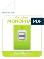 Notice Compteur Linky Monophase V4