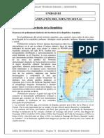 El proceso de poblamiento histórico del territorio de la República Argentina