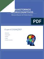 AULA 1 - Transtornos Neurocognitivos