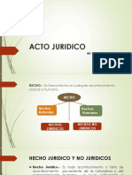 Acto Juridico i Clase