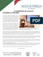 Transporte Lidera Estadísticas de Consumo Energético en Ecuador