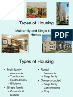 1 Types of Housing