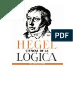 HEGEL, G.W.F. - Ciencia de la Lógica [Lógica del Ser - SELECCIÓN I]