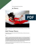 sick woman theory