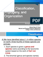 01 Animal Classification and Phylogeny