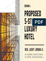 Design 6- Propose 5-Star Luxury Hotel