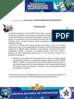 Evidencia 3 Evaluar Mercados Potenciales