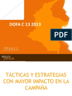 Dofa Campaña 13 Consolidado