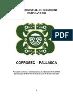 Plan Provincial de Seguridad Ciudadana 2019