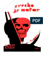 Raul Barón Biza - El Derecho de Matar (Con Grabados Sin El Proceso)