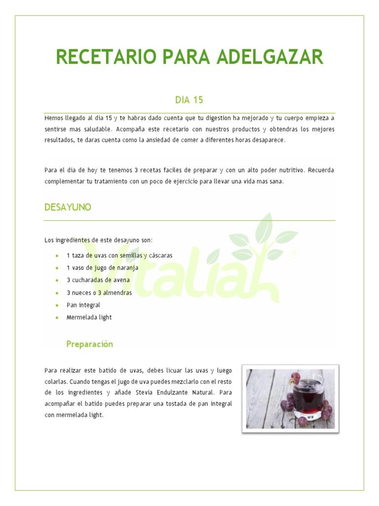 De uva adelgazar jugo para