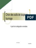 Choix Plaquette