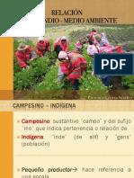 RELACIÓN CAMPESINOS-MEDIO AMBIENTE. LETICIA SÁNCHEZ