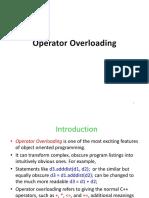 Ch08 Operator Overloading-1
